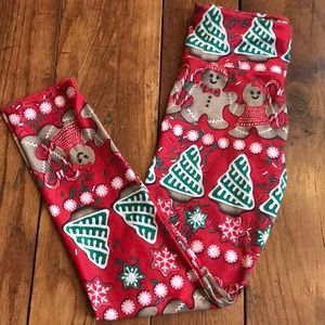 Justice girls size 8 leggings tights Christmas